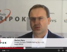 Wypowiedź Mariusza Rajcy na temat nowego systemu gospodarowania odpadami