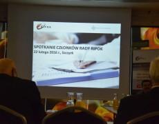 Spotkanie Członków Rady RIPOK w nowym 2016 roku.