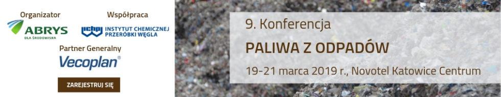 9. Konferencja Paliwa z odpadów