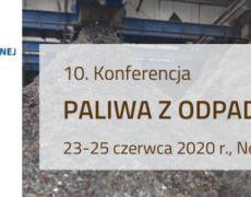 Rada RIPOK obejmuje patronatem branżowym 10. Konferencję Paliwa z odpadów